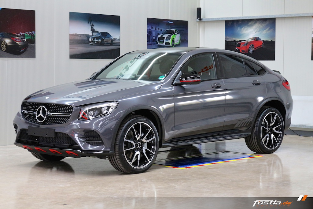 Mercedes GLC 43 AMG Coupe - Anthracit-Metallic