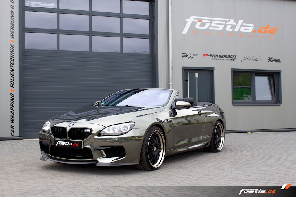 BMW M6 Cabrio - Black-Chrom
