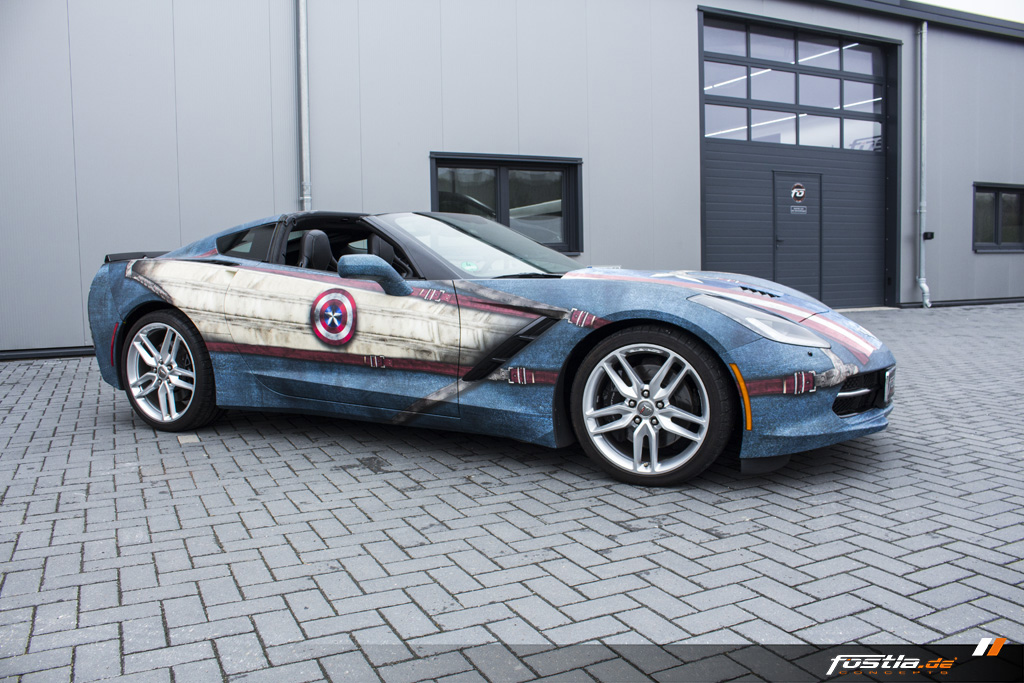 Corvette C7 Captain America Design Vollfolierung Exclusive USA  4.jpg