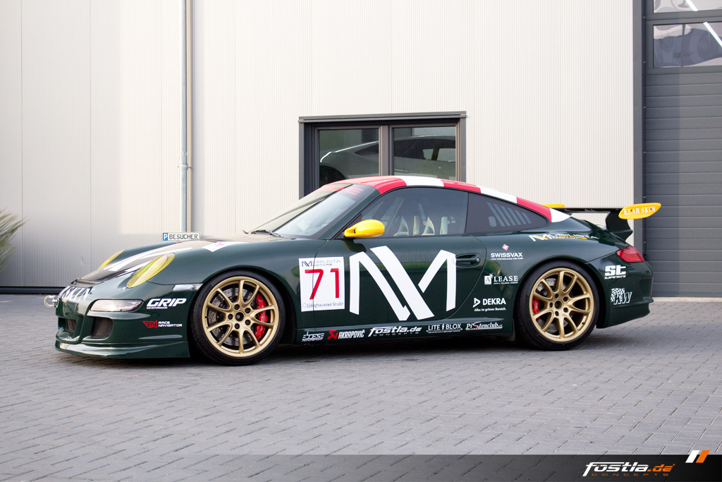 Porsche 911 GT3 997.1 British-Racing-Green Vollfolierung Design Motorsport Folie (5).jpg