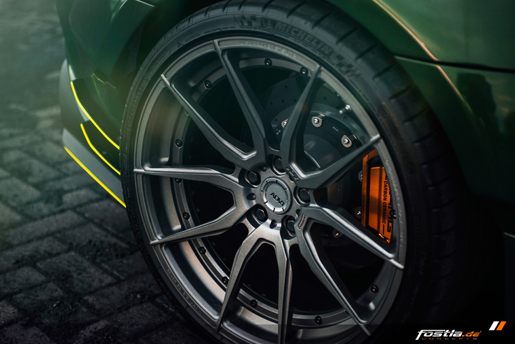 Mercedes AMG GT Prior-Design Widebody-Aerodynamik-Kit Malachite Green Vollfolierung Hannover (12).jpg