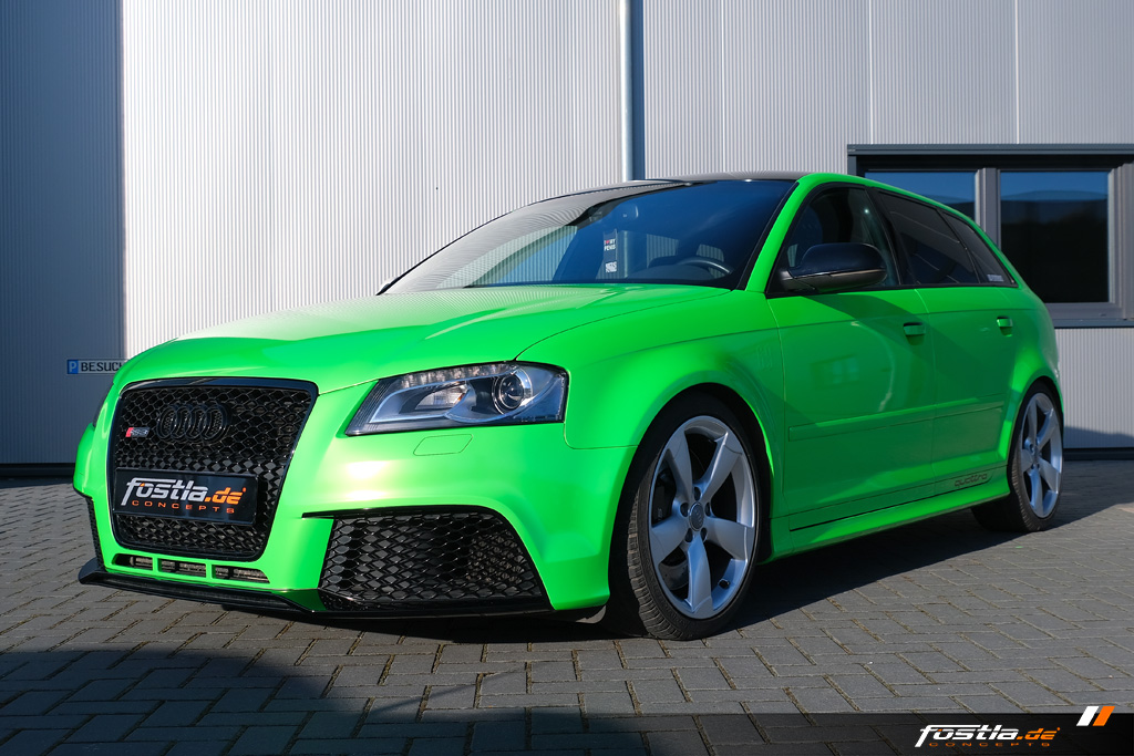 Audi RS3 8PA PWF Gymkhana Green Limited Vollfolierung Grün Hannover  (1).jpg