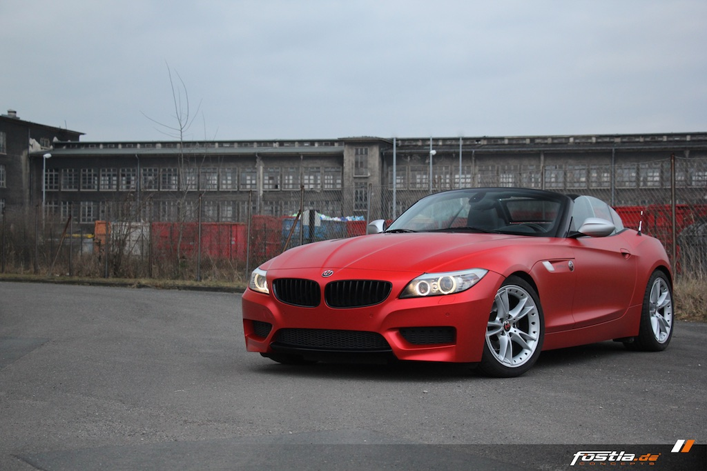 Bmw Z4 E89 Frozen Red Matt
